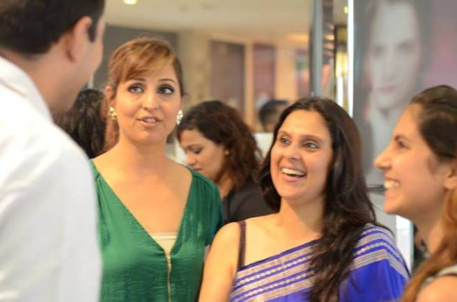 In converastion ..skin specialist Varun katyal,Makeupartist chandni singh,kavita Ashok and Roshni Ashok
