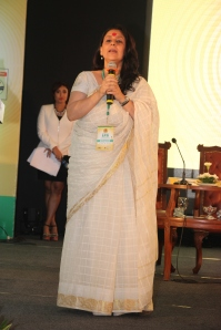 speaking about my NGO and vision of India